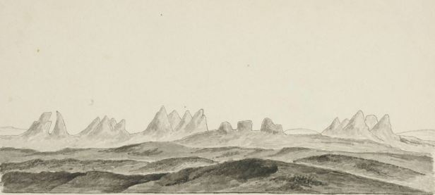 Seet fra Hallingskarven, mod nord