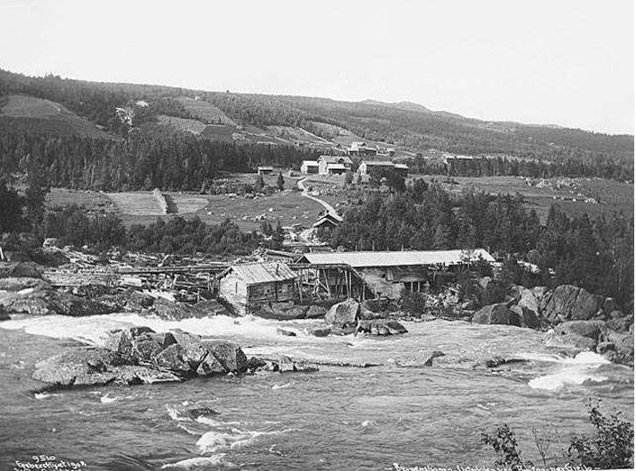 Ustedalen Ved Breifoss 1908