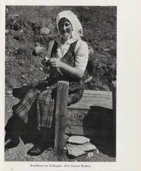 bondekone 1950