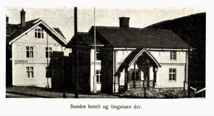 sundre hotell