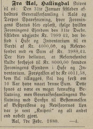 aal og torpo speareforening 1880