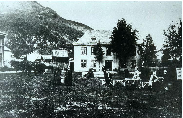 Sorenskrivergården i Hallingdal
