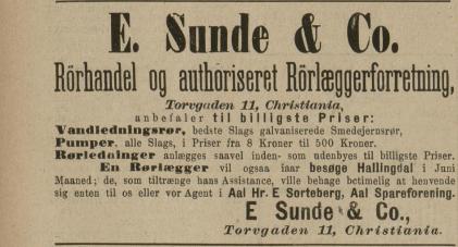 sorteberg rør VG 1880