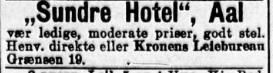 sundre hotel aftenposten 1912