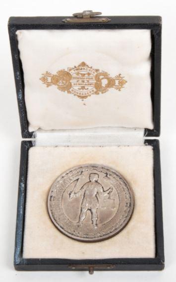 Medalje fra Kongsberg Jubileumsutstilling i 1924